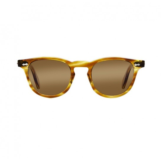 James Dean sunglasses Universal_Optical Mansfield Square Crystal Honey brown lens