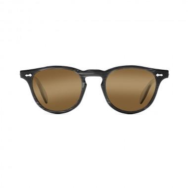 James Dean sunglasses Universal Optical Mansfield Square black brown lens