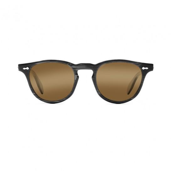 James Dean occhiali da sole Universal Optical Mansfield Square black lenti marroni