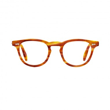 James Dean eyeglasses Universal Optical Mansfield Square demi amber